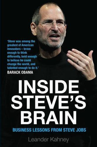 Buy Inside Steve's Brain: Business Lessons from Steve Jobs, the Man Who Saved online for USD 22.77 at alldesineeds