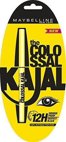 Buy 10 X Maybelline Colossal Kajal, Black (Pack of 10) online for USD 39 at alldesineeds