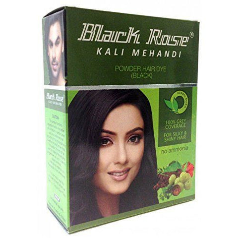 Buy 20 Sachets Black Rose Kali Mehandi Black Henna Herbal Hair 10 gms each online for USD 20.3 at alldesineeds