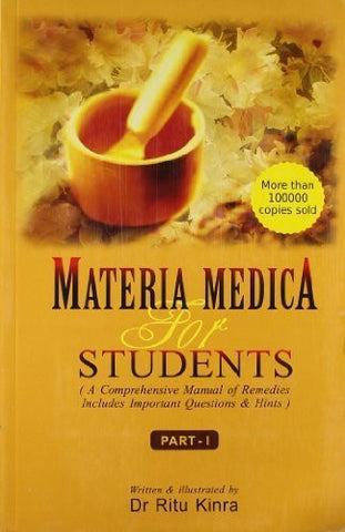 Buy Materia Medica for Students: A Conprehensive Manual of Remedies: Includes Important online for USD 21.63 at alldesineeds