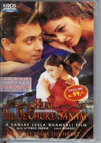 Buy Hum Dil De Chuke Sanam [DVD] Aishwarya Rai; Ajay Devgan; Salman Khan online for USD 10.2 at alldesineeds