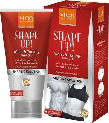 Buy 2 X Vlcc Shape up Waist and Tummy Trim Gel 100gms each online for USD 36.88 at alldesineeds