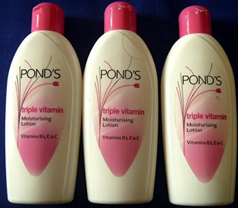 Buy 3 X Ponds Triple Vitamin Moisturising Body Lotion Soft Smooth Radiant Skin online for USD 16.88 at alldesineeds