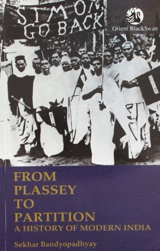 Buy From Plassey to Partition: A History of Modern India [Paperback] [Jun 26, online for USD 23.67 at alldesineeds