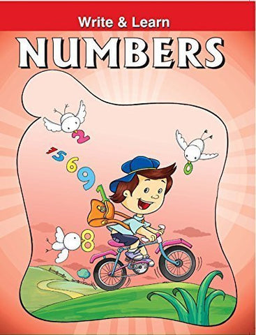 Buy Numbers (Write & Learn) [Paperback] [Apr 01, 2008] Pegasus online for USD 7.86 at alldesineeds