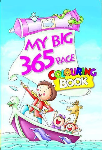 Buy My Big 365 Page Colouring Book [Aug 01, 2012] B. Jain Publishers online for USD 17.22 at alldesineeds
