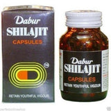 Buy Dabur Shilajit Pure 100 Capsules online for USD 21.39 at alldesineeds