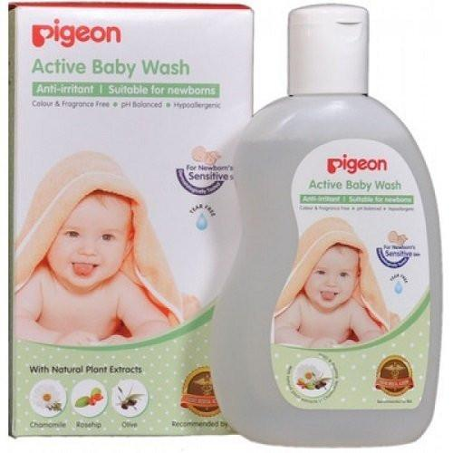 Pigeon Active Baby Wash 200ml - alldesineeds