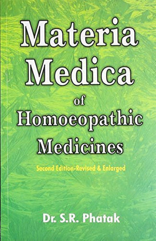 Buy Concise Materia Medica of Homoeopathic Medicines [Jun 30, 2003] S. R. Phatak online for USD 35.3 at alldesineeds