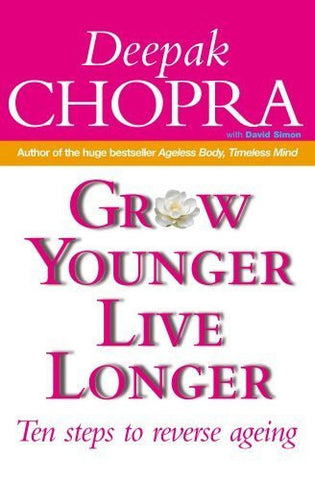 Buy Grow Younger, Live Longer [Paperback] [Sep 05, 2002] Deepak Chopra online for USD 19.42 at alldesineeds