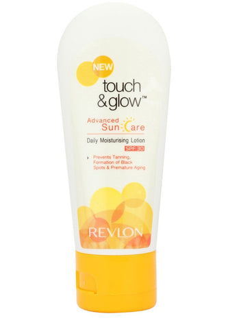 Buy Revlon Touch and Glow Advanced Sun Care Daily Moisturising Lotion Spf 30, 50ml online for USD 11.91 at alldesineeds