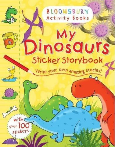 My Dinosaurs Sticker Storybook [Mar 04, 2014] Bloomsbury] [[ISBN:1408847299]] [[Format:Paperback]] [[Condition:Brand New]] [[Author:Bloomsbury]] [[ISBN-10:1408847299]] [[binding:Paperback]] [[manufacturer:Bloomsbury Activity Books]] [[number_of_pages:24]] [[publication_date:2014-01-02]] [[brand:Bloomsbury Activity Books]] [[ean:9781408847299]] for USD 13.43