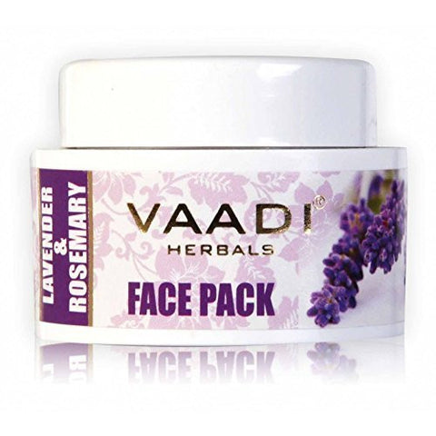 Buy Vaadi Herbals Face Pack Lavender & Rosemary 70ml online for USD 13.85 at alldesineeds