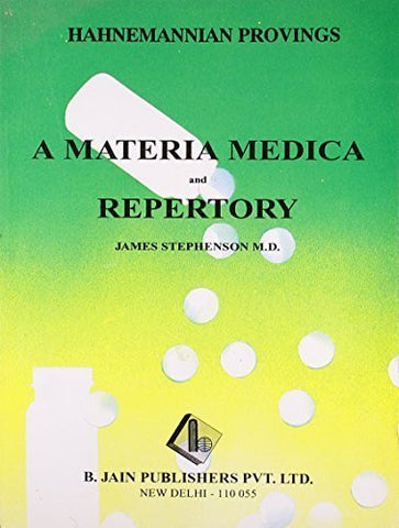 Buy Hahnemannian Provings: A Materia Medica & Reprtory [Jun 30, 1998] Stephenson, online for USD 8.4 at alldesineeds