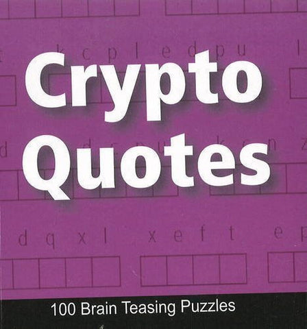 Buy Crypto Quotes: 100 Brain Teasing Puzzles [Apr 26, 2010] B Jain Publishing online for USD 6.88 at alldesineeds