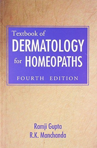 Buy Textbook of Dermatology for Homoeopaths [Dec 01, 1997] Gupta, Ramji and Manchanda online for USD 21.11 at alldesineeds