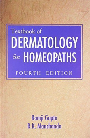 Buy Textbook of Dermatology for Homoeopaths: 3rd Edition [Paperback] [May 01, online for USD 30.94 at alldesineeds