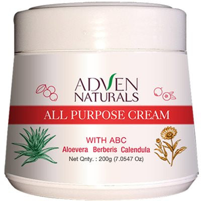 2 x Adven All Purpose Cream with Aloe Vera, Berberis, Calendula (200g)