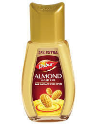 Buy DABUR ALMOND HAIR OIL FOR DAMAGE FREE HAIR 50ML  x 2 ( 100 ml) online for USD 9 at alldesineeds