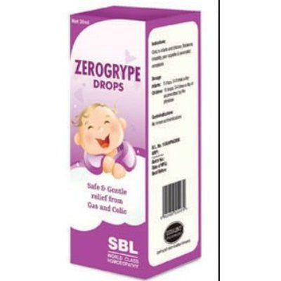 SBL Zerogrype Drops 100ml - alldesineeds