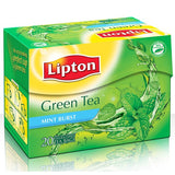 Lipton Green Tea Mint Burst 20 Tea Bags