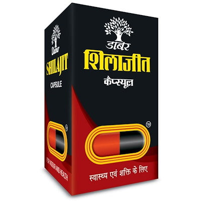 3 Pack Dabur Shilajit Regular (100caps)