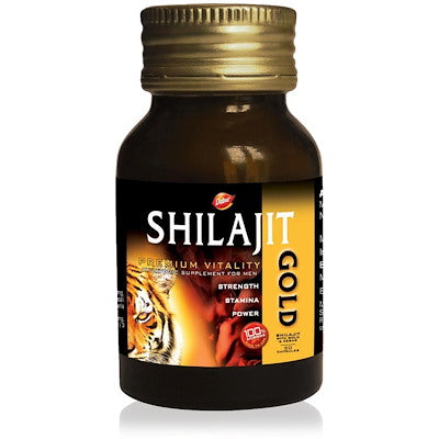 3 Pack Dabur Shilajit Gold (20caps)