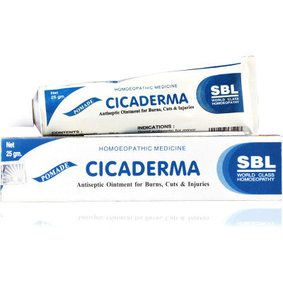 2 x SBL Cicaderma Ointment 25gms each - alldesineeds