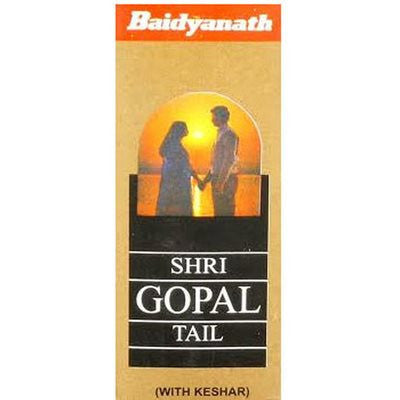 Buy Baidyanath-Shrigopal-Tel-(Kesar-Amber-Yukt)-(50ml) online for USD 11.57 at alldesineeds