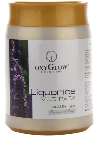 Oxyglow Liquorice Mud Pack, 500g - alldesineeds