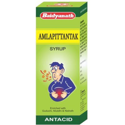 2 x Baidyanath Amla Pittantak Syrup (200ml) each - alldesineeds