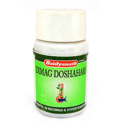 Buy 2 x Baidyanath Dimag Doshari Tablet (50tab) each online for USD 18.33 at alldesineeds