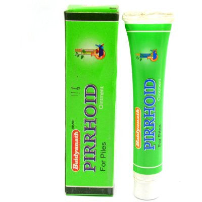 Buy 2 x Baidyanath Pirrhoids Ointment (15g) each online for USD 11.85 at alldesineeds