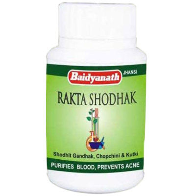 Buy 2 x Baidyanath Raktashodhak Bati (50tab) each online for USD 17.07 at alldesineeds