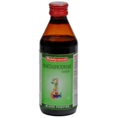 Buy 2 x Baidyanath Raktashodhak Syrup (200ml) each online for USD 18.33 at alldesineeds
