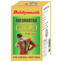 Buy 2 x Baidyanath Rheumartho Gold Capsule (30caps) each online for USD 30.14 at alldesineeds