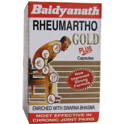 Buy 2 x Baidyanath Rheumartho Gold Plus Capsule (30caps) each online for USD 43.1 at alldesineeds