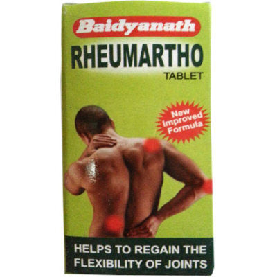 Buy 2 x Baidyanath Rheumartho Tablet (50tab) each online for USD 18.98 at alldesineeds