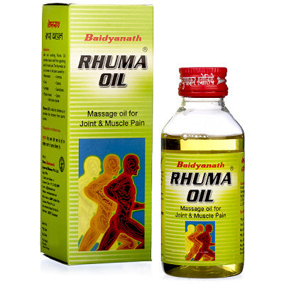 2 x Baidyanath Rhuma Oil (100ml) each - alldesineeds