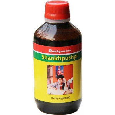 Buy 2 x Baidyanath Shankhpushpi Syrup (200ml) each online for USD 17.21 at alldesineeds