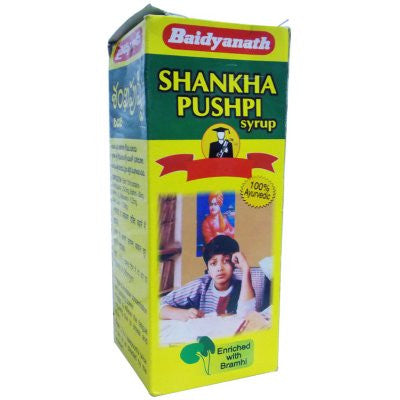2 x Baidyanath Shankhpushpi Syrup (450ml) each - alldesineeds