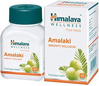 10 Pack of Himalaya Wellness Pure Herbs Amalaki Immunity Wellness |Promotes health | - 60 Tablets