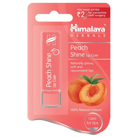 Buy 2 Pack Himalaya Peach Shine Lip Care, 4.5gms each online for USD 9.99 at alldesineeds