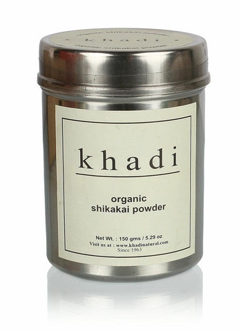 Buy Khadi Organic Shikakai Powder 300 gms online for USD 19.31 at alldesineeds