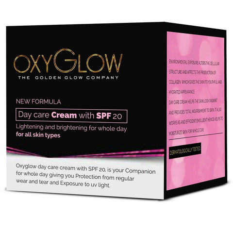 2 Pack Oxyglow Day Care Cream, 50gms each - alldesineeds