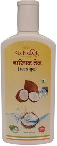 Buy 2 x Patanjali Coconut Oil, 200ml each online for USD 16.14 at alldesineeds