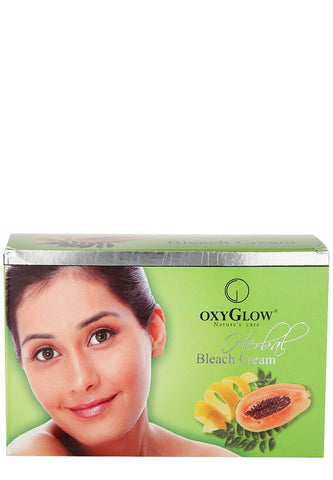 Buy 2 Pack Oxyglow Herbal Bleach Cream, 240gms each online for USD 22.99 at alldesineeds
