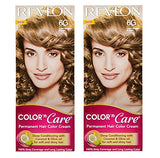 Buy 2 x REVLON COLOR N CARE PERMANENT HAIR COLOR CREAM LIGHT GOLDEN BROWN 6G online for USD 13.42 at alldesineeds