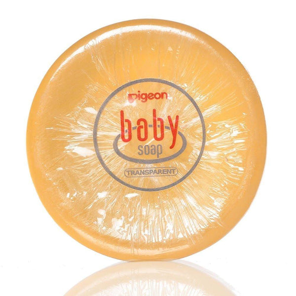 Pigeon Baby Transparent Soap (80g) - alldesineeds