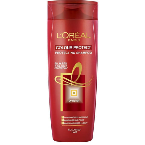 Buy L'Oreal Paris Colour Protect Protecting Shampoo (180ml) (Pack of 2) online for USD 15.96 at alldesineeds